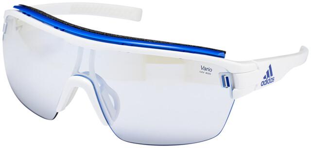 adidas Zonyk Aero Pro Glasses L white shinyvario blue